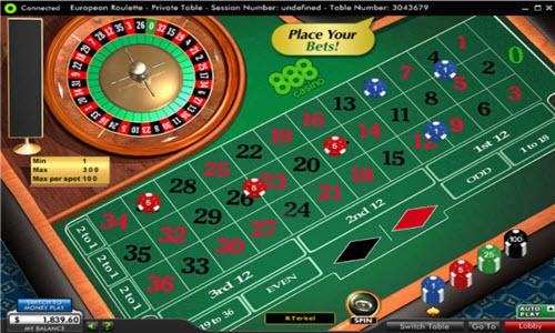 Roulette 888casino