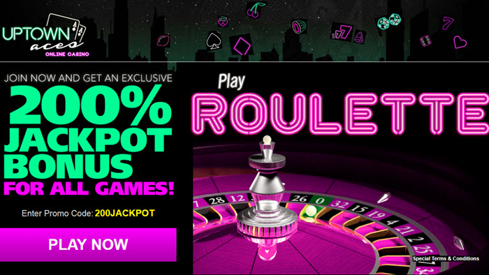 Roulette up town Aces