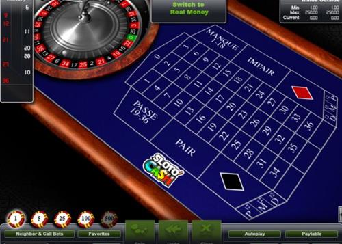 Roulette slot o cash